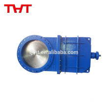 THT carbon steel fiber pulping delta knife gate valve