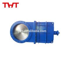 THT fibra de aço fibra de polpa delta faca válvula de portão