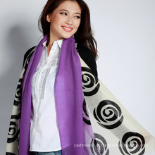 100% Wolle / Pashmina Printed Schal