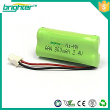 battery 3.6v 1000mah or 650mah ni-mh battery pack