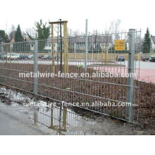 PVC Coated Twin Wire Mesh Fence