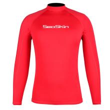 Seaskin Surf Rash Guard à manches longues pour hommes