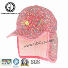 Smart Casual Breathable Sports Baseball Cap com proteção do pescoço