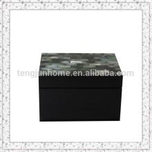 Black MOP Boîte de rangement avec peinture noire La plus petite taille