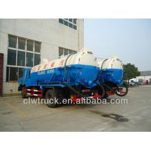 Low Price Dongfeng high pressure sewage sucking truck in Peru