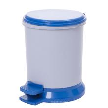 Пластмассовая круглая мусорная корзина для педалей (YW0092)
