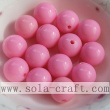 High Permance for Faceted Round Beads Wholesale Nice Round Smooth Acrylic Accessory Bead supply to Equatorial Guinea Factories