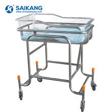 Cama de bebê recém-nascido móvel do hospital X01 flexível