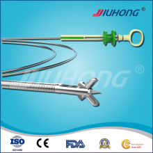 Disposable Biopsy Forceps with Spike for Tissue Sampling