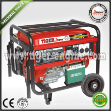 TIGER BRAND 4.4KW/13HP EC SERIES EC5500AE GASOLINE GENERATOR electric start system