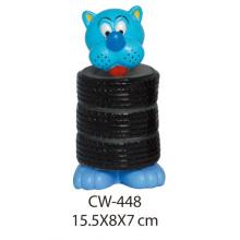 Juguete del perro Juguete del vinilo Cw-448 Productos del animal doméstico
