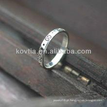 Atacado 925 prata esterlina encantos anéis