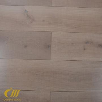 12.3mm Textured Wood Grain Laminate Tile Floor
