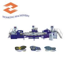 Máquina para hacer suela de PVC