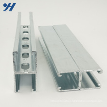 Stainless Steel Hot Rolled Steel Hot Dip Galvanized Back To Back C Channel
