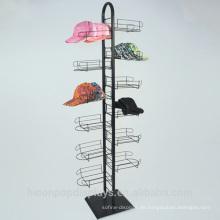 Erneuern Sie Ihren Einzelhandelsgeschäft und erhöhen Sie Verbraucher-Einkaufen-Erfahrung Handelsmetallboden-Standplatz-Hut-Racks