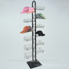 Refresh Your Retail Store And Increase Consumer Shopping Experience Commercial Metal Floor Standing Hat Racks