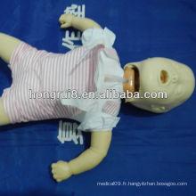 Rechange infantile ISO et mannequin étouffant