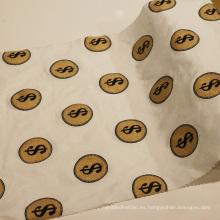 Tejido de algodón estampado de moda para pantalones