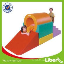 New 2014 Jouet Indoor Children Soft Play Slides LE.RT.004
