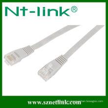 Cable de conexión plana Cat6 RJ45 UTP