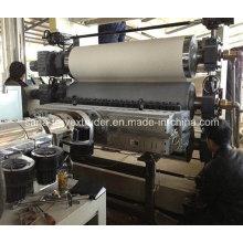 Línea plástica de la máquina del extrusor de la hoja de PVC / PS / ABS