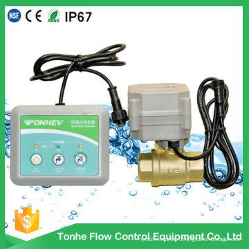 Беспроводной датчик утечки воды детектор обнаружения детектор воды утечка контроллер клапана