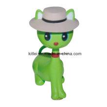 Personalizado Por Atacado Mini Vinil PVC Plástico Adorável Crianças Brinquedos de Natal