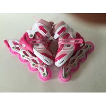 Children Sports Pink Inline Skates