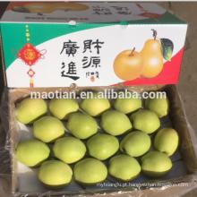 Pêras Shandong Amarelo