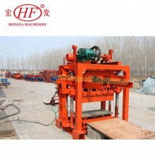 Manual Block Making Machine Concrete Interlocking Brick Machine