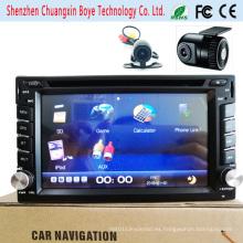 Reproductor de DVD multimedia para coche con navegación Bluetooth / GPS