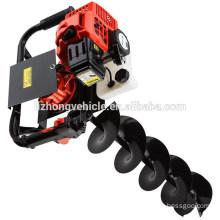 Chine Wholesale meilleure 62cc 75cc 85cc auger pour Terre de forage, foreuse de terre électrique, foreuse de terre trépans carottiers