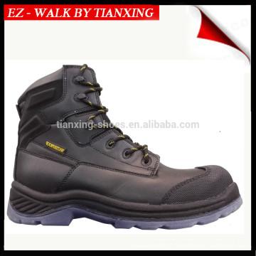 PU TPU sapatos de segurança em aço inoxidável