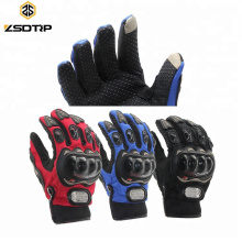 Universal Wholesale Full Finger Outdoor Sports Motorcycle Gloves Riding Cycling Touch Screen Glove Motocicleta Guante