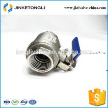 JKTL2B040 gaz cf8m 1000wog 2 pièces rb pn40 ss316 ci valve à bille