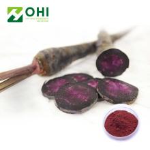 Schwarzes Karotten-Pigment-natürliches rotes Farbpulver