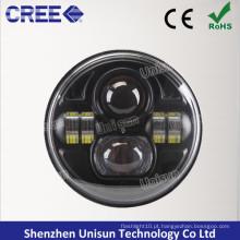 Lâmpada LED para caminhão de substituição DOT de 7 polegadas 12V-24V 70W CREE