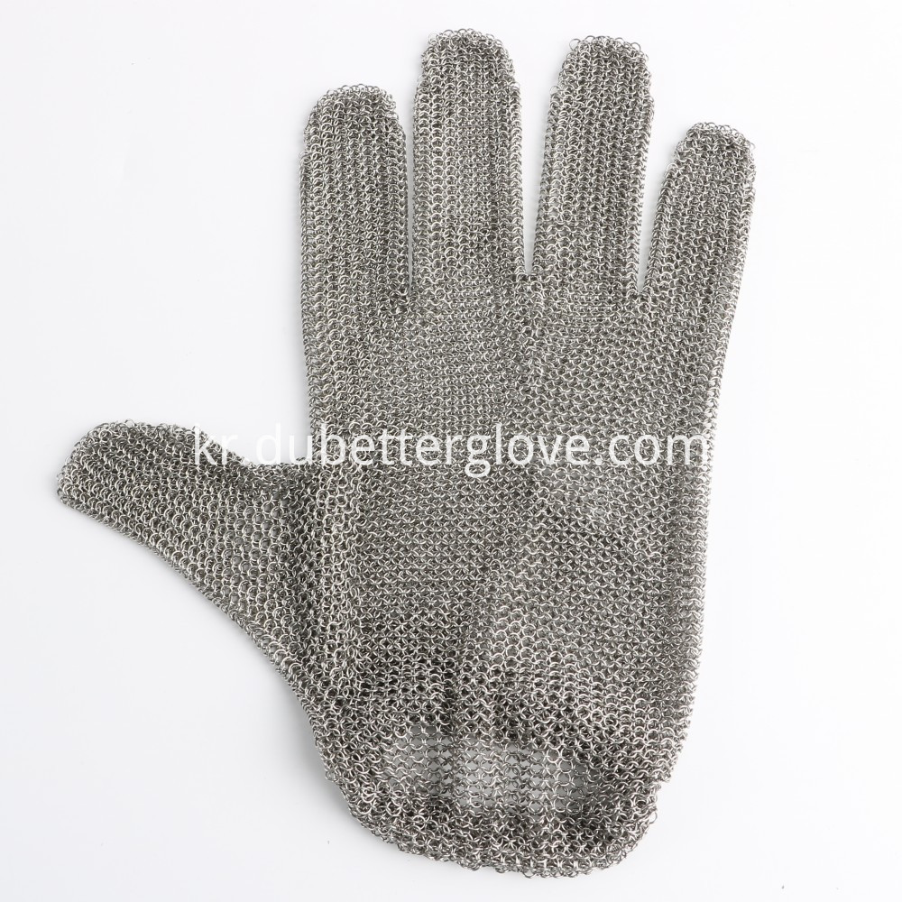 steel mesh gloves with spring strap02