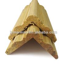 moldura de madeira design de canto