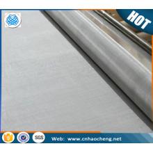 SUS / AISI 201 202 304 304 306 316 316l 310 430 904L toile de treillis métallique tissé en acier inoxydable