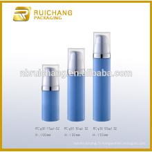 Bouteille plastique sans cosmétiques 15ml30 / 50ml, bouteille ronde en plastique sans air, emballage cosmétique