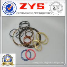 Resina plástica de la jaula del cojinete de Zys, acero galvanizado, acero de cobre amarillo
