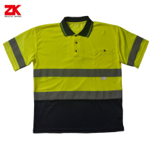 Shot sleeve Insect repellent polyester reflective vest
