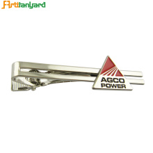 Good Quality for Necktie Knots Factory Custom Metal Logo Tie Clip For Sale export to Russian Federation Exporter