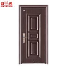 China fornecedor mais recente projeto top aço segurança sala porta interior porta do quarto porta