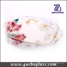 Lily Glass Plate (GB1730LB/PDS)
