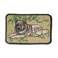 Dog Iron-on Embroidery Patches