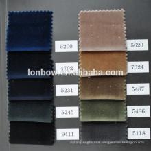 New 100 cotton velvet fabric for jacket