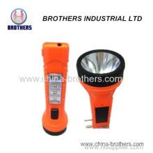 Plastic Solar 1 LED Torch